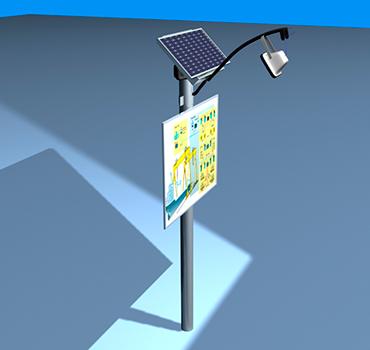 esolva-advertentie-verlichting-op-paal